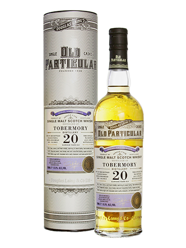 tobermory 20 years old particular
